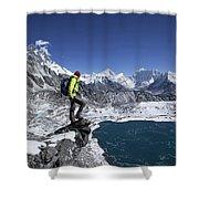 Khumbu Shower Curtain
