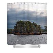 Koirajarvi Shower Curtain