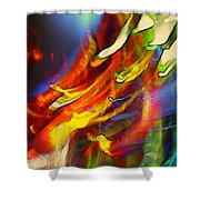 Light Strands Shower Curtain