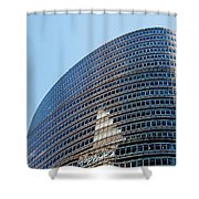 Lipstick Building Shower Curtain