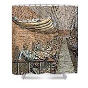 London: Debtors Prison Shower Curtain