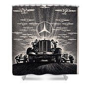 Mercedes - Benz Shower Curtain