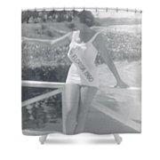 Miss Florida 1960 Shower Curtain