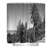 Mountainside Near Lake Tahoe Shower Curtain