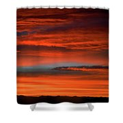 Nevada Skies Shower Curtain
