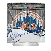 New York Mets Shower Curtain