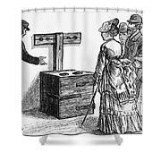 Newgate Prison, 1873 Shower Curtain