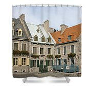 Old Town Quebec - Canada Shower Curtain