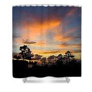 Outer Banks North Carolina Sunset Shower Curtain