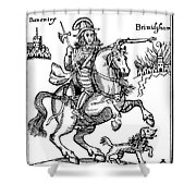 Prince Rupert (1619-1682) Shower Curtain
