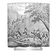 Quebec Expedition, 1775 Shower Curtain