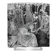 Queen Victoria (1819-1901) Shower Curtain