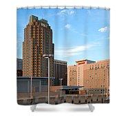 Raleigh Skyline Shower Curtain