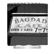 Route 66 - Bagdad Cafe Shower Curtain by Frank Romeo