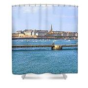 Saint-malo - Brittany Shower Curtain