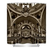 Saint Marys Orthodox Cathedral Shower Curtain