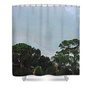 Skyscape - Tornado Forming Shower Curtain