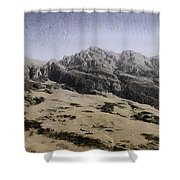 Slope Of Hills In The Scottish Highlands Shower Curtain