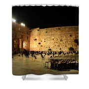 The Wailing Wall Shower Curtain