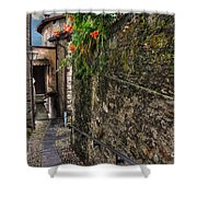 Tight Alley Shower Curtain