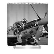 Tuskegee Airmen, 1945 Shower Curtain