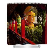 Vietnamese Temple Shower Curtain