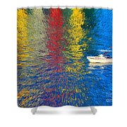 60- Fourth Of July Shower Curtain