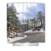 Route 60 Virginia Shower Curtain