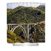 604 Det  Big Sur Bridge Shower Curtain