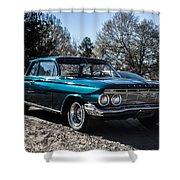 61 Chevrolet Biscayne Shower Curtain