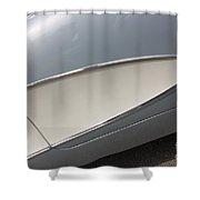 61 Corvette-grey-sidepanel-9244 Shower Curtain