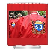 610 Stompers - New Orleans La Shower Curtain
