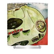 62 Ferrari 250 Gto Signed By Sir Stirling Moss Shower Curtain