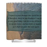 62- Inspiration Shower Curtain