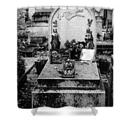 Pere-lachais Cemetery In Paris France Shower Curtain