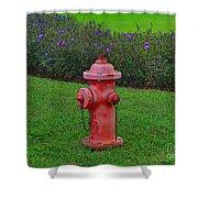 62- Puppy Garden Shower Curtain