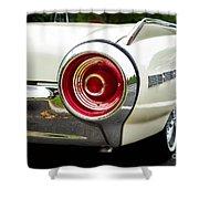 62 Thunderbird Tail Light Shower Curtain