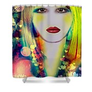 Britany  Shower Curtain