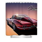 '63 Stinger Shower Curtain
