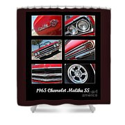 65 Malibu Ss Poster Shower Curtain