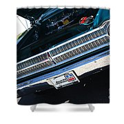 65 Plymouth Satellite Grill-8481 Shower Curtain