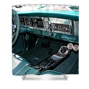 65 Plymouth Satellite Interior-8499 Shower Curtain
