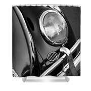 '65 Vw Beetle Shower Curtain