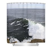 654  Steamer Lane Shower Curtain