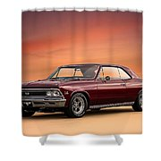 '66 Chevelle Shower Curtain