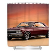 '66 Chevelle Shower Curtain