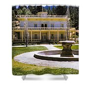 660 Sl Bowers Mansion  Shower Curtain