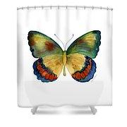 67 Bagoe Butterfly Shower Curtain