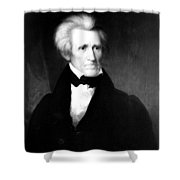 Andrew Jackson (1767-1845) Shower Curtain