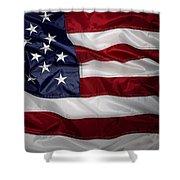 American Flag 52 Shower Curtain
